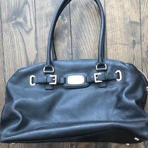 7def704ae9a9 Michael Kors. Michael Kors Black Hamilton XL Weekender Bag